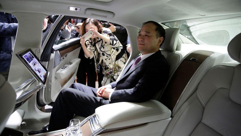 Li Shufu, Haupteigner des chinesischen Autokonzerns Geely