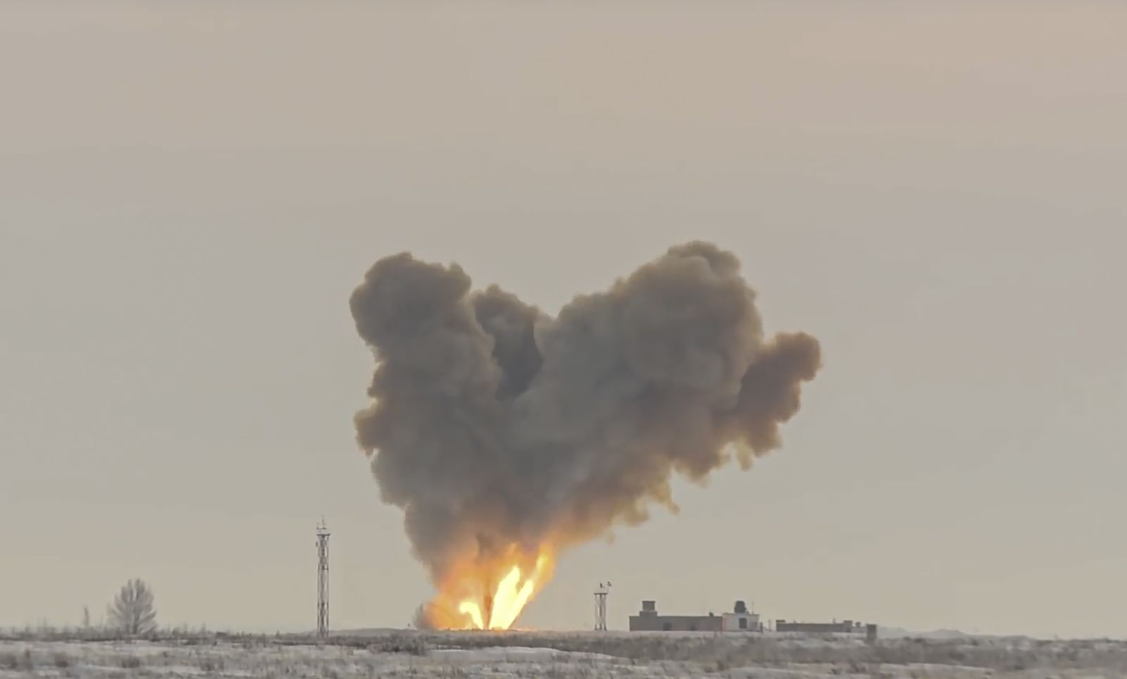Russia's first Avangard hypersonic missile system enters service, Dombarovsky, Russian Federation - 26 Dec 2018