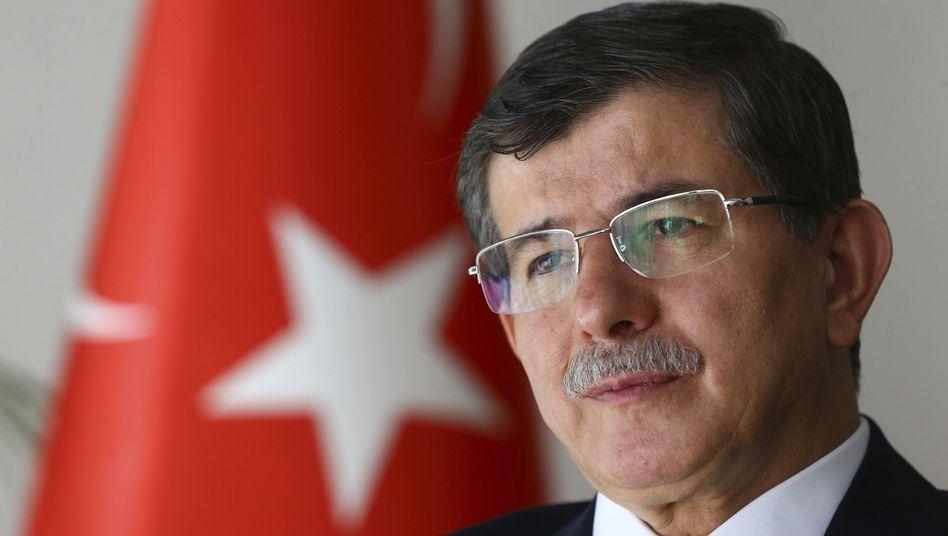 """Türkischer Ministerpräsident Davutoglu: """"Schwere Provokation"""""""