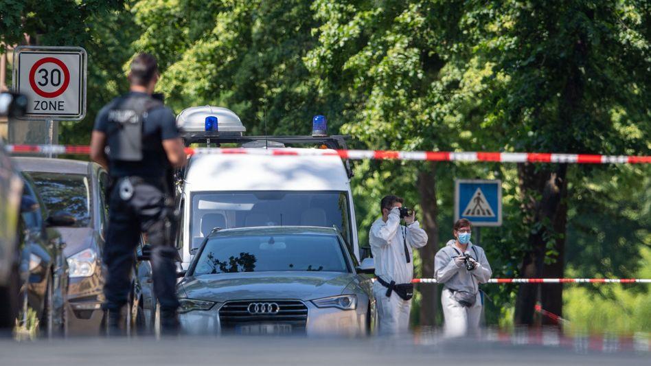 Espelkamp: Spurensicherung am Tatort