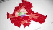 Grünes Zentrum, roter Rand