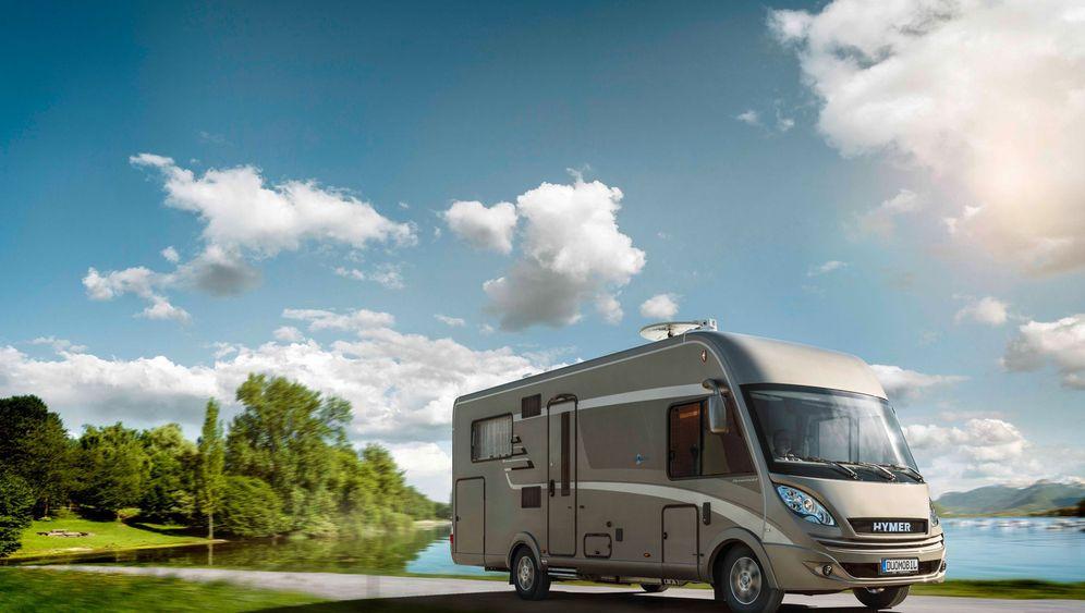 Caravan-Salon in Düsseldorf: An Bord der Land-Yachten
