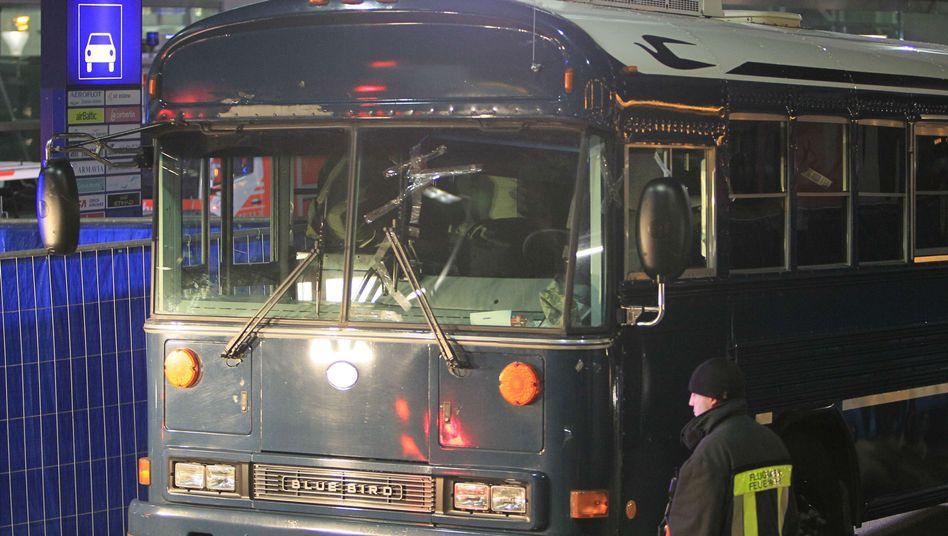Tatort Bus der US-Armee: Anschlag eines kaltblütigen Killers