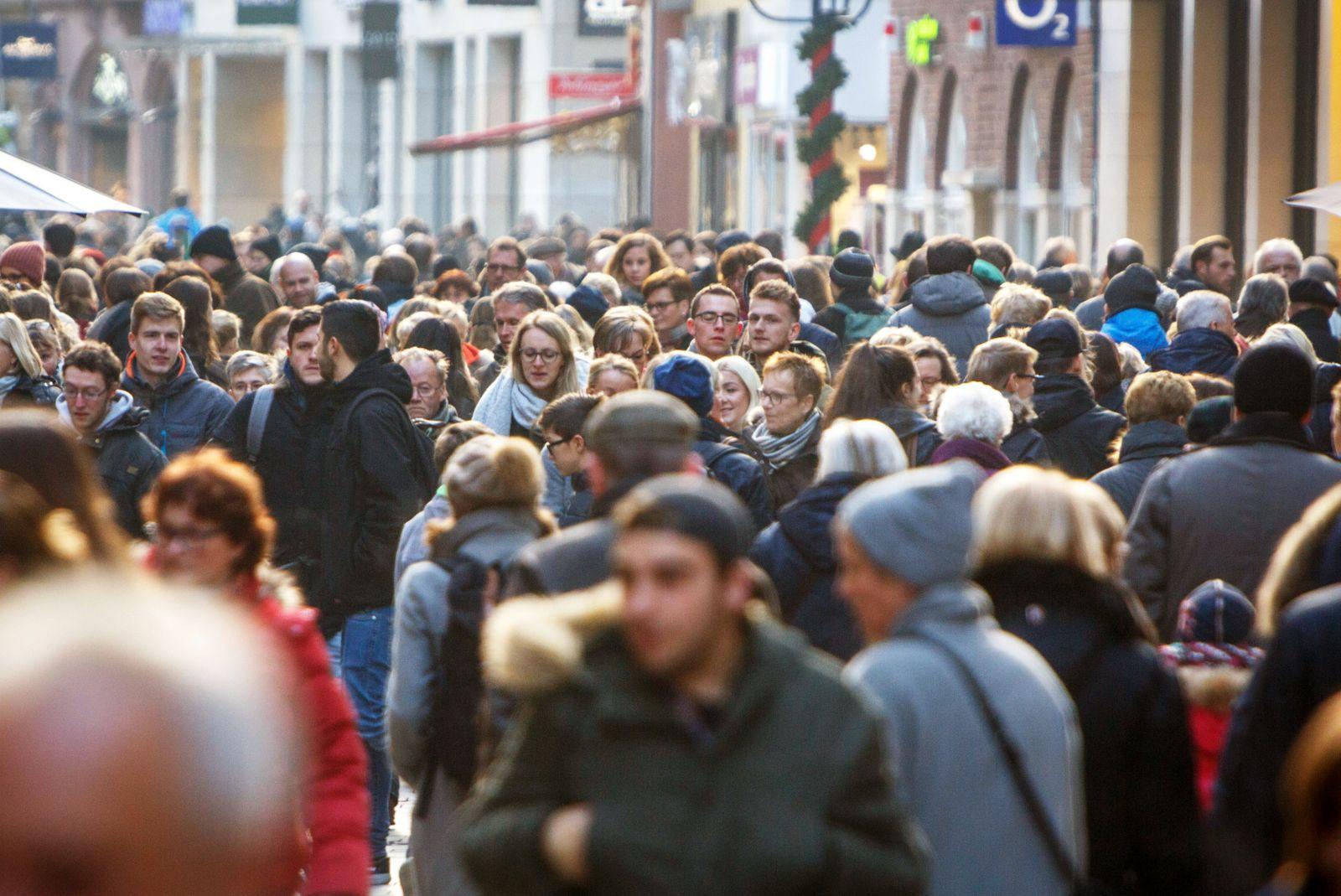 DEU Deutschland Nordrhein Westfalen M¸nster 26 11 2016 Am Samstag vor dem Ersten Advent sind i