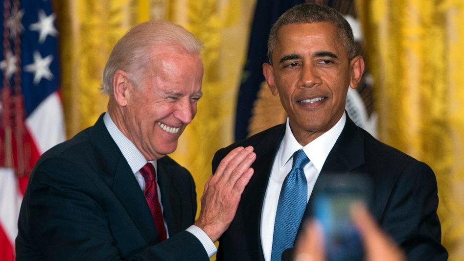 Vizepräsident Joe Biden, Präsident Barack Obama
