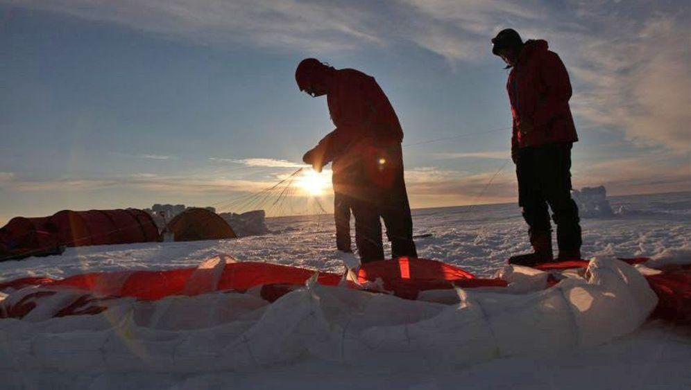 Grönland-Expedition: Das Kreuz mit dem Kite