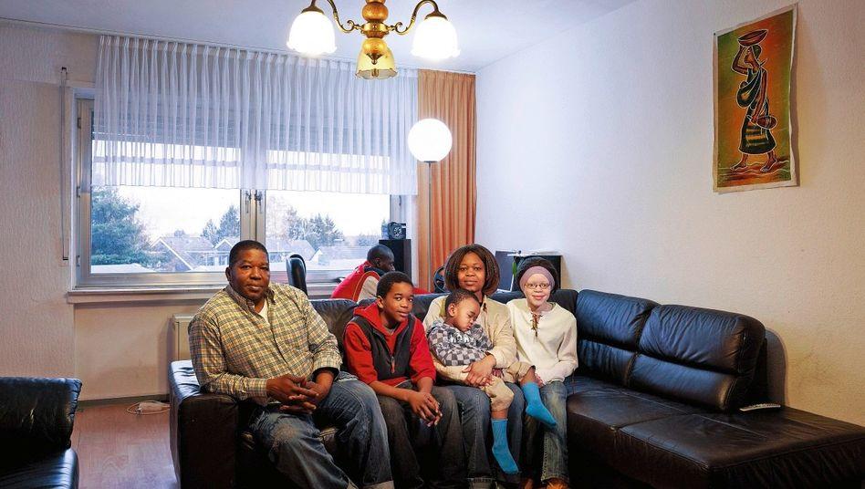 Kongolesische Familie in Mülheim an der Ruhr
