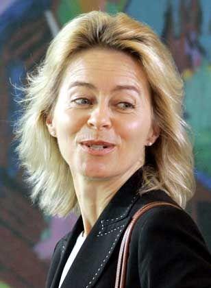 """Familienministerin von der Leyen: """"Die Aussagen aus dem Koalitionsausschuss sind für mich bindend"""""""