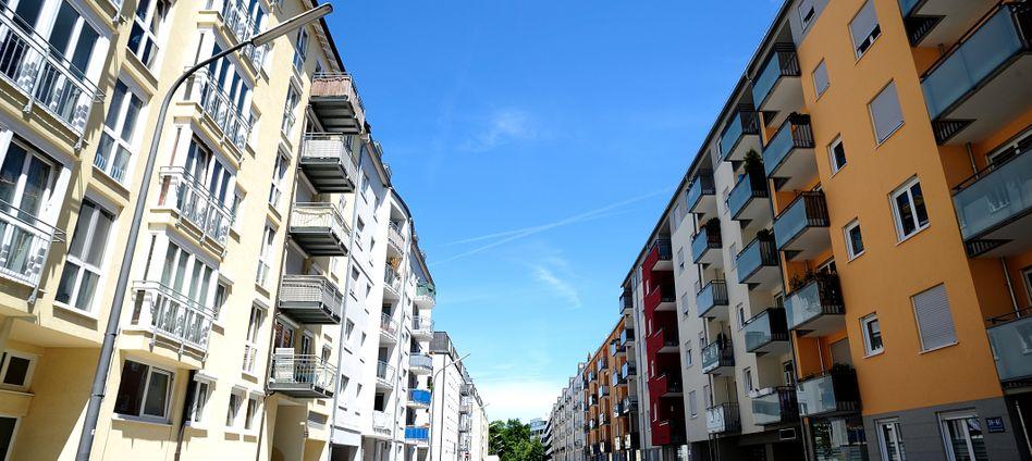 Häuserfassaden in München: Die Preise explodieren