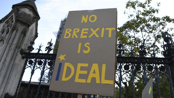 """Proteste in London: """"Kein Brexit ist ein (i)deal"""""""