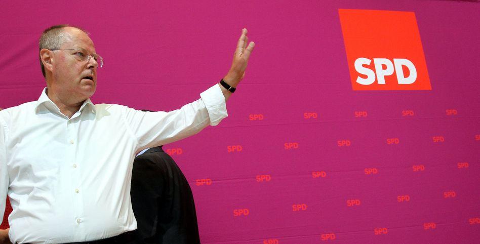SPD-Kanzlerkandidat Steinbrück: Hohe Strompreise als Wahlkampfthema