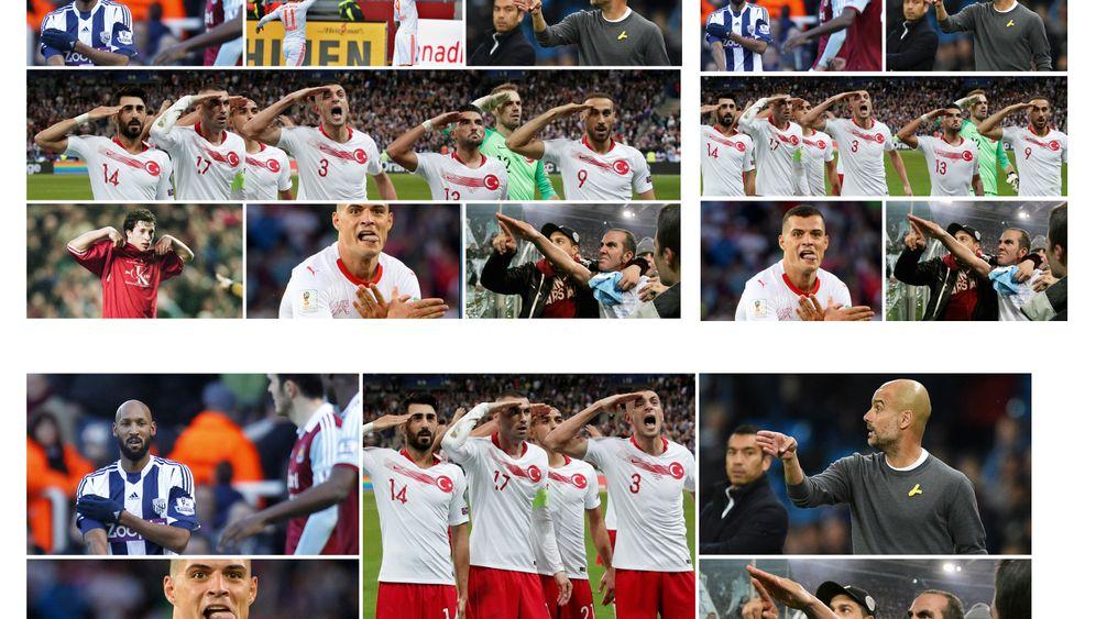 Fotostrecke: Wenn die Fifa eingreift