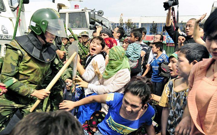 Unrest in Urumqi.