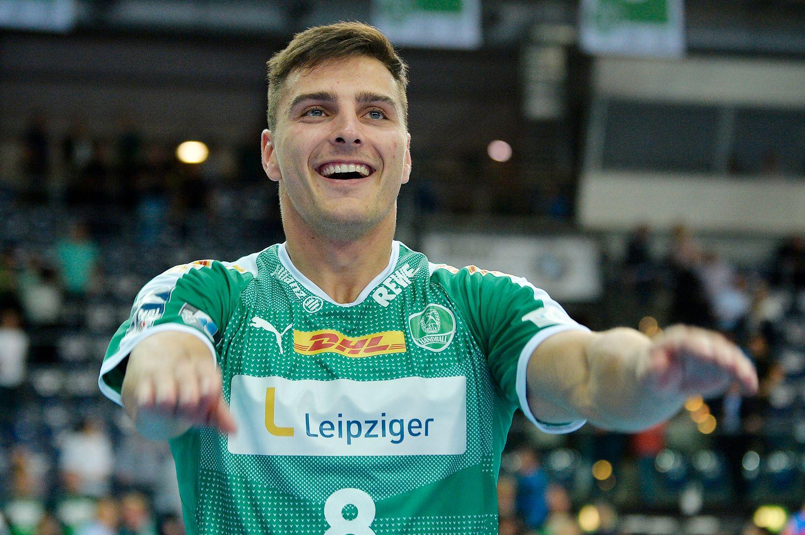 LIQUI MOLY Handball-Bundesliga 2019/2020, 9. Spieltag, SC DHfK Leipzig vs. HBW Balingen-Weilstetten (10.10.2019) Lucas K