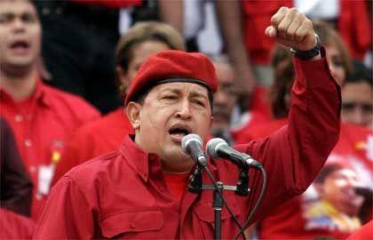 Präsident Chavez: Erste Maßnahmen ergriffen