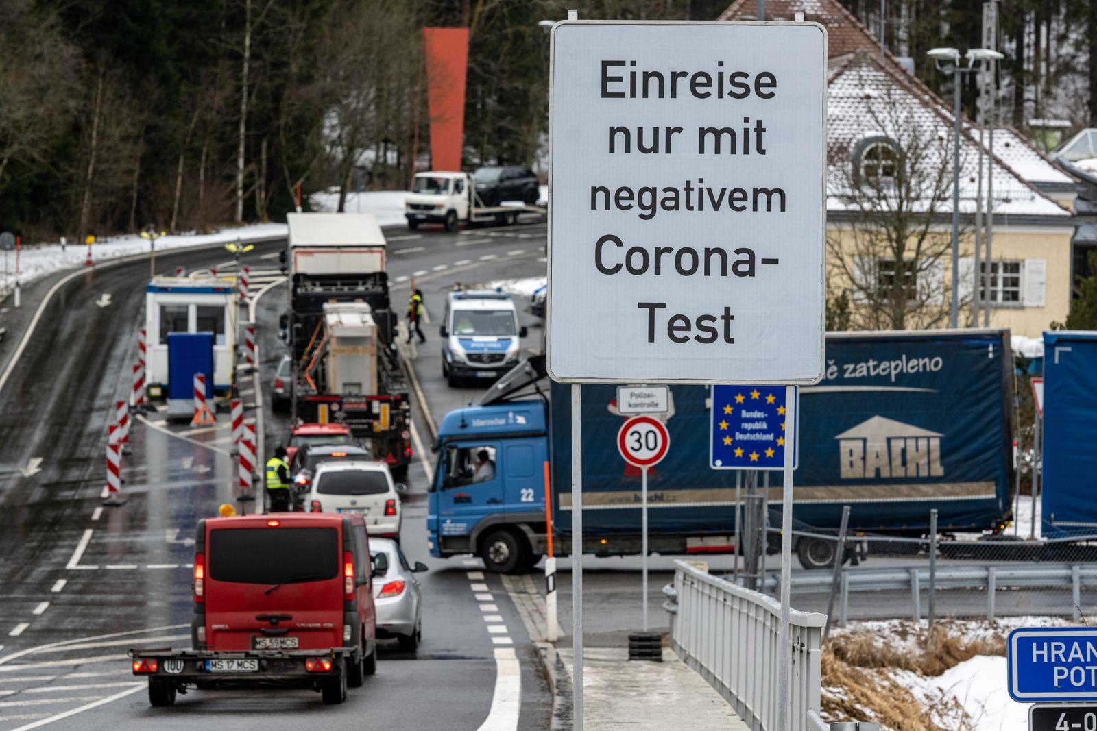 Coronavirus - Lage in der Grenzregion