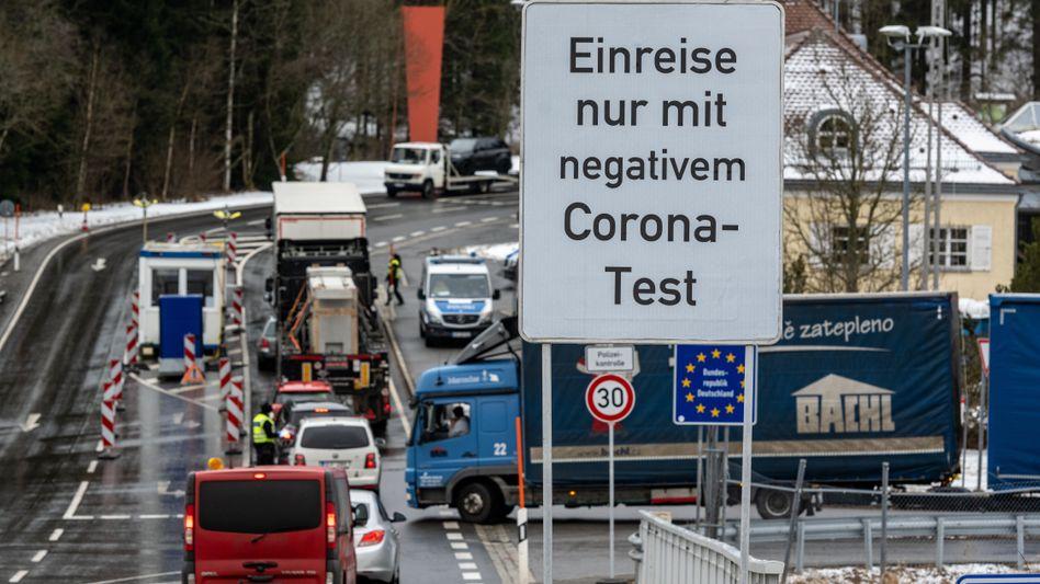 Corona-Testpflicht an der deutsch-tschechischen Grenze