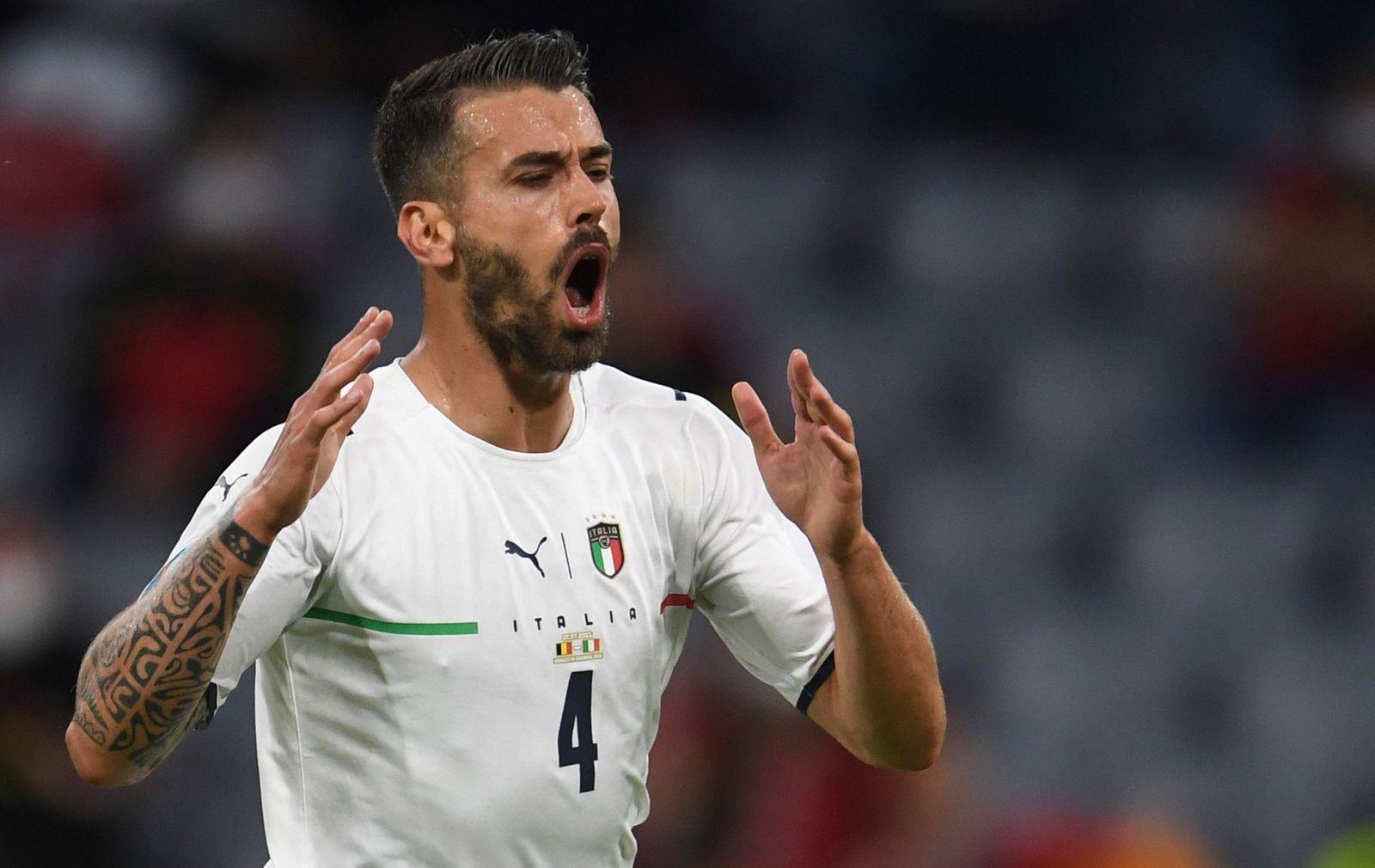 Fußball EM - Belgien - Italien