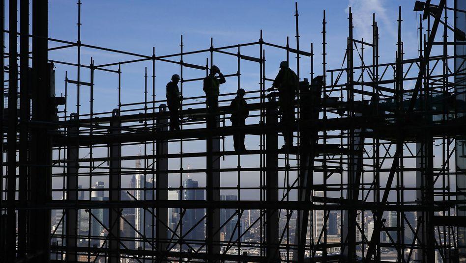 Bauarbeiten in Frankfurt am Main