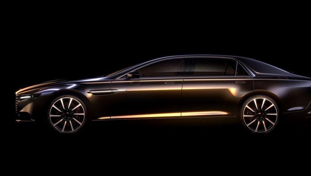 Comeback von Luxusmarke Lagonda: Exklusiver Vorgeschmack