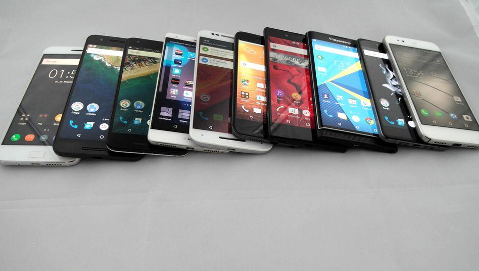 Jedes dieser Android-Handys hat seine speziellen Vorzüge - und Nachteile