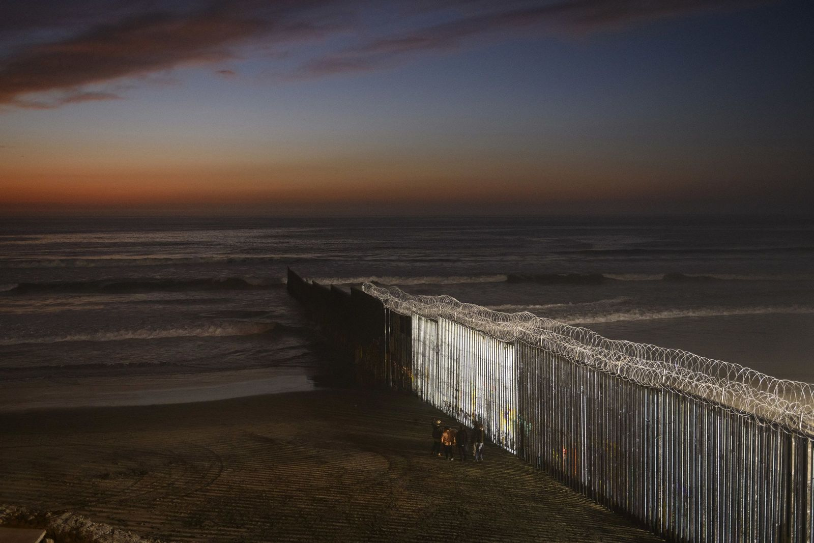 USA/ Tijuana/ Migranten-Karawane