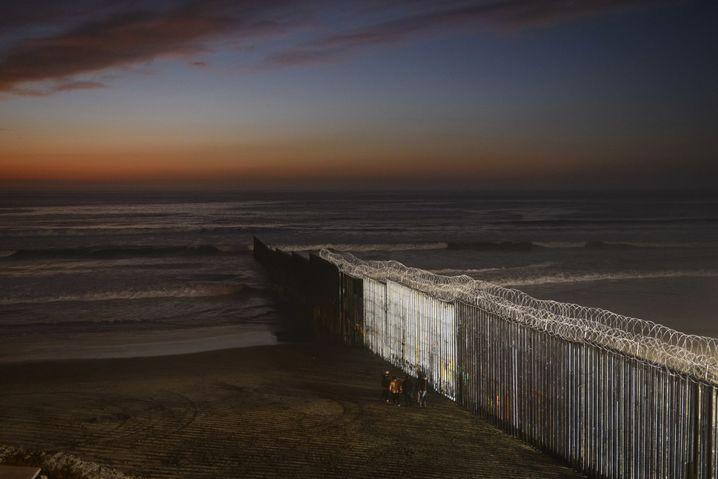 Grenze südlich von San Diego