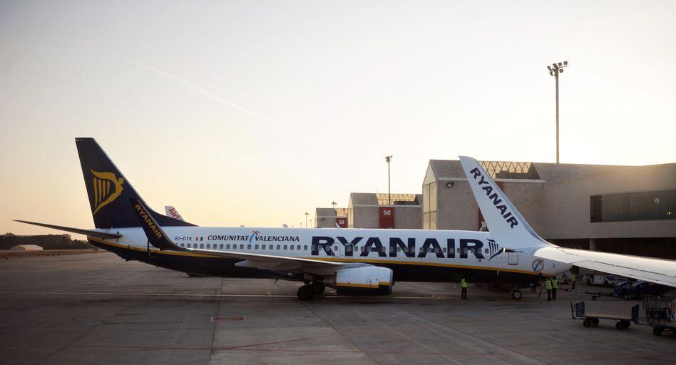 """Ryanair-Maschine auf dem Flughafen von Mallorca: """"Inakzeptable Kampagne"""""""