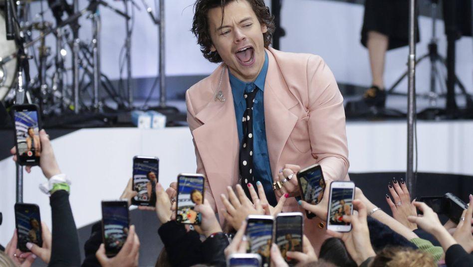 Harry Styles im Februar in New York