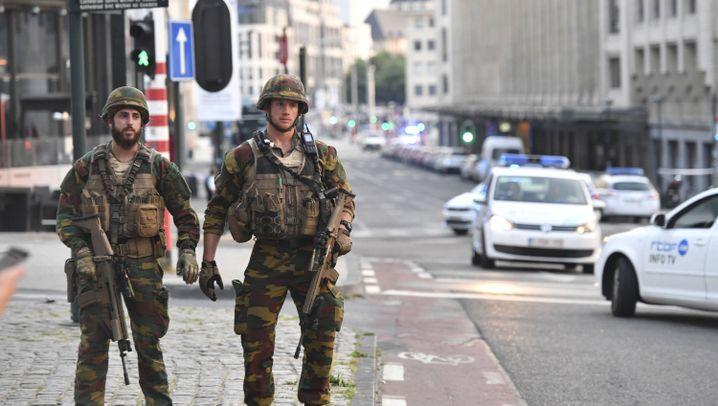 Explosion in Brüssel: Polizeieinsatz am Bahnhof Central