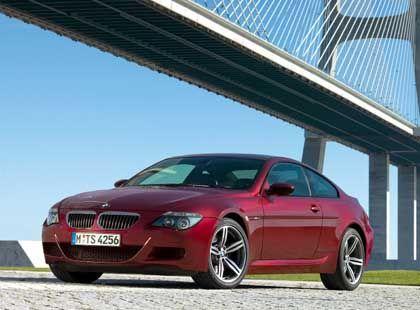 BMW M6: Becherhalter für 100 Euro