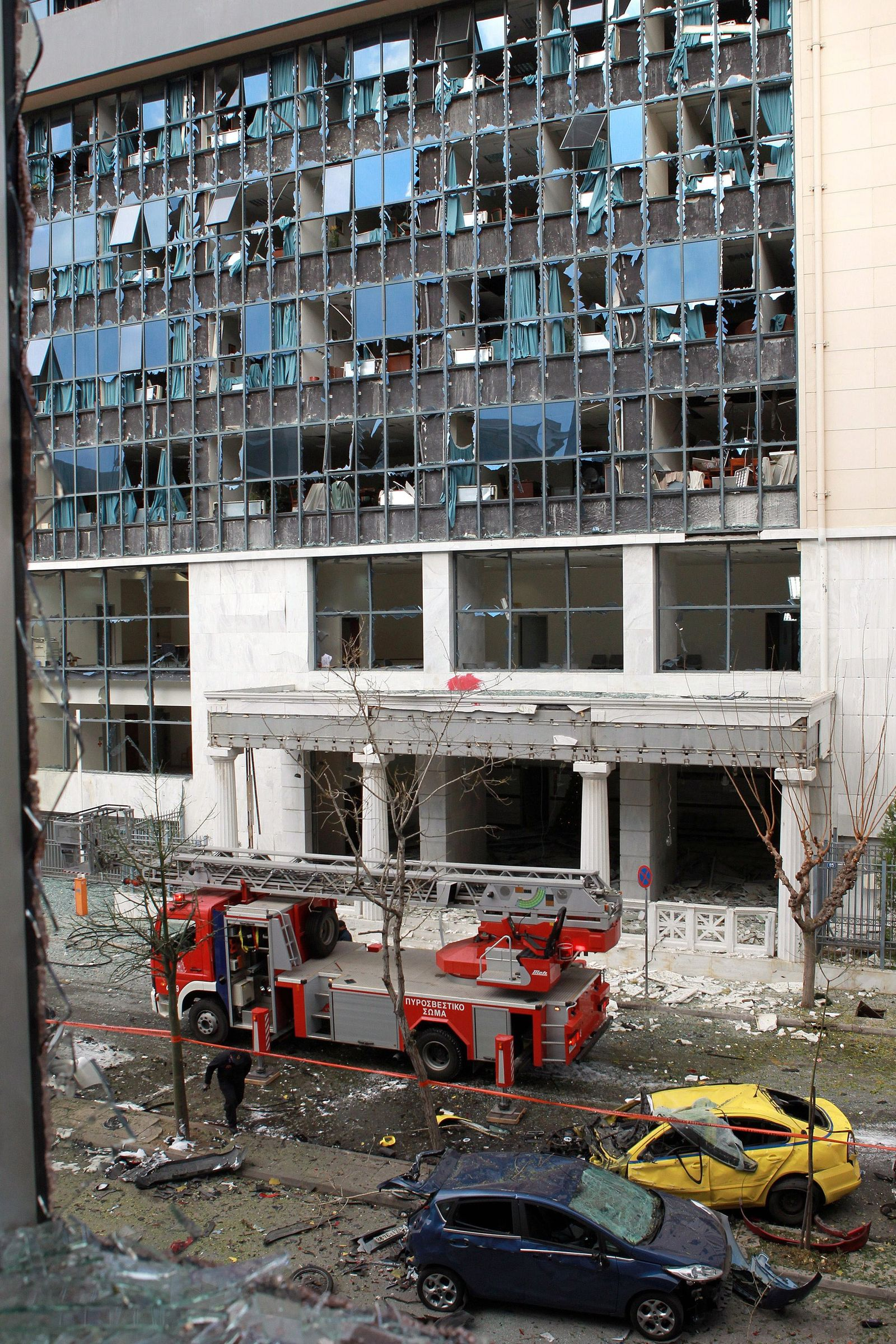 Athen/ Bomben-Explosion