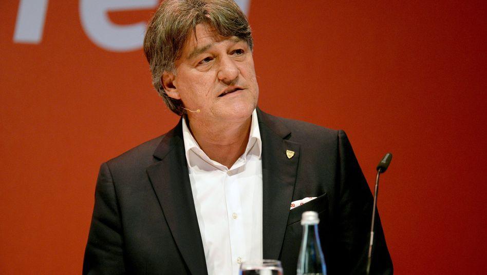 """VfB-Präsident Wahler: """"Das ist ein großer Denkzettel"""""""