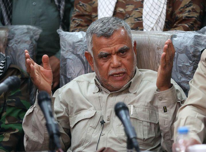 Hadi al-Amiri, Chef der schiitischen Milizen-Allianz