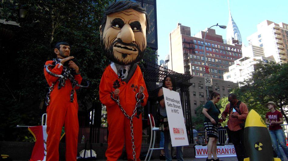 Anti-Ahmadineschad-Demo in New York: Langjährige Handelspartner wenden sich ab