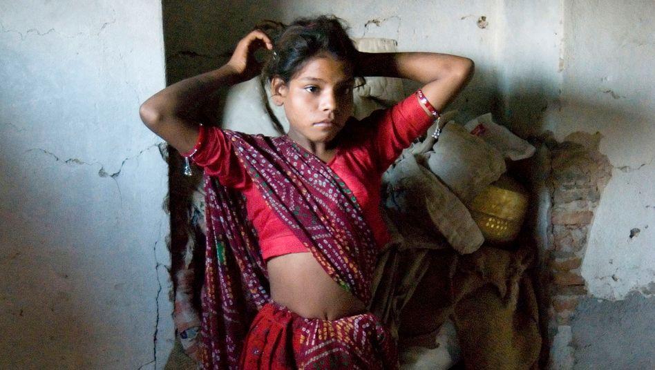 """Kinderehe in Indien: """"Ich war sehr jung, als ich verheiratet wurde, oder?"""""""