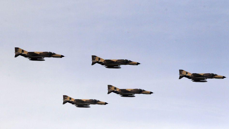 Flugzeuge der iranischen Luftwaffe (Symbolbild)