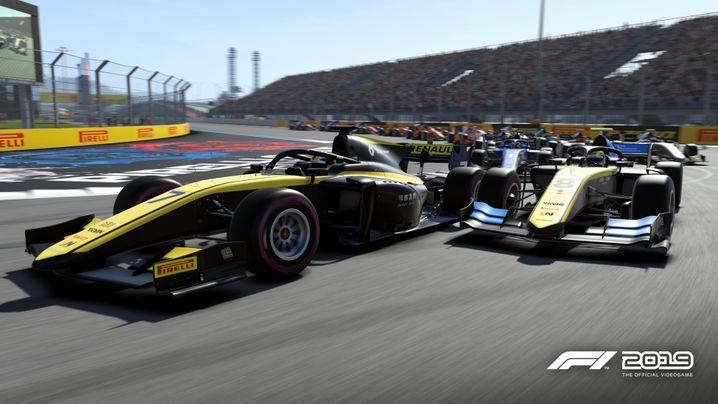 """""""F1 2019"""" von Codemasters fürPC/PS4/XboxOne,30bis70 Euro"""