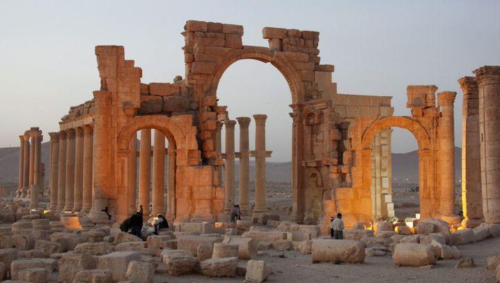 Palmyra: So wüteten die IS-Terroristen in der antiken Oasenstadt