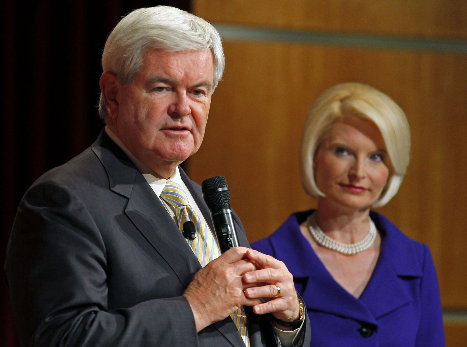 Gingrich und Callista