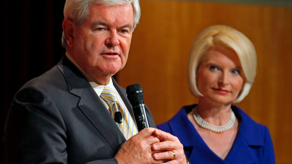 Spitzenreiter Gingrich, dritte Ehefrau Callista: Anti-Romney für die Konservativen?
