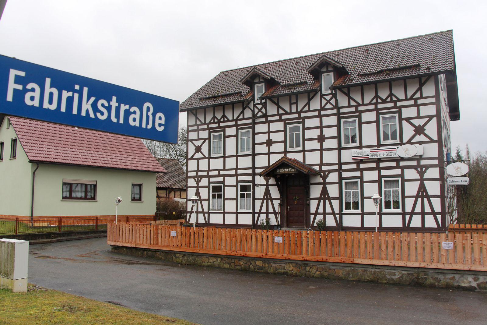 EINMALIGE VERWENDUNG Thüringen/ Themar