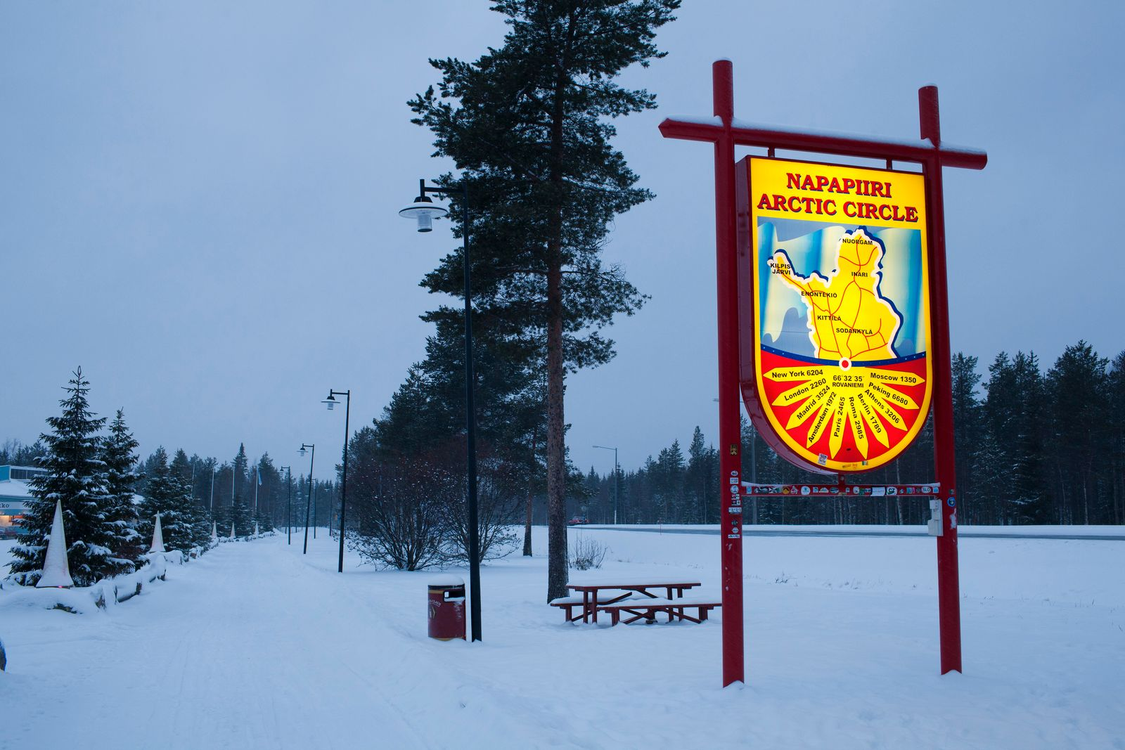 Santa's Post Office in Lapland, Finland