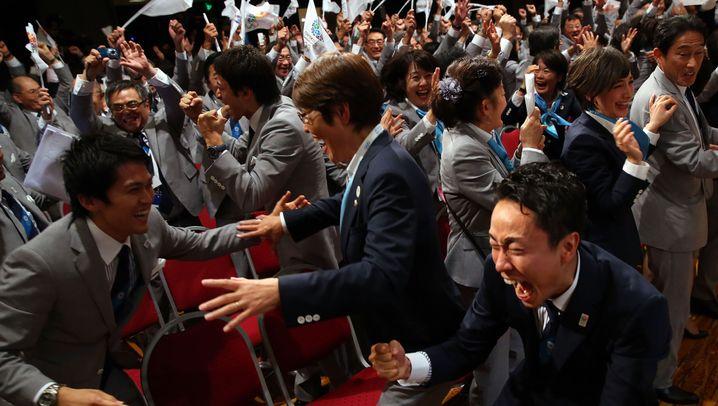 Olympische Spiele 2020: Tränen der Freude, lähmendes Entsetzen