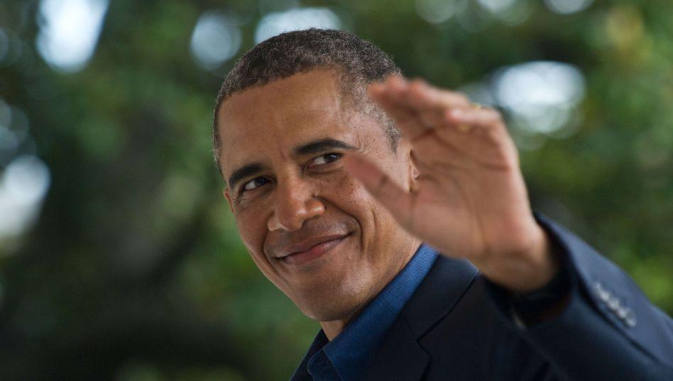 US-Präsident Obama: Für eine Stippvisite in Deutschland