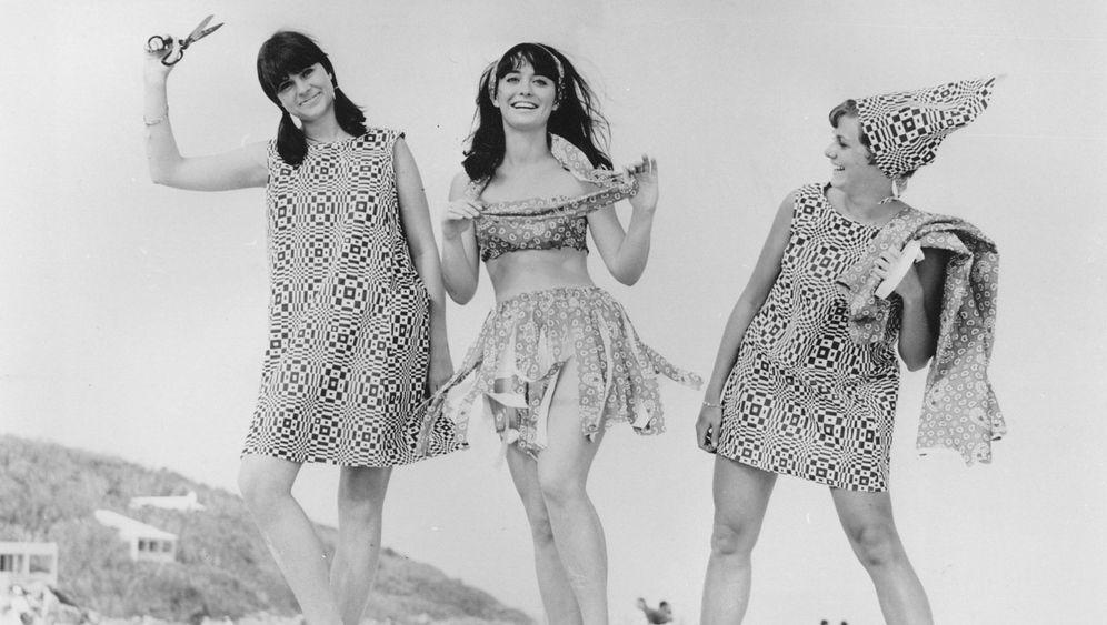 Sixties-Trend zur Wegwerfmode: Ihre Papiere bitte!
