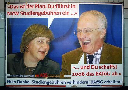 Plakat in NRW: Die Studenten sind zornig