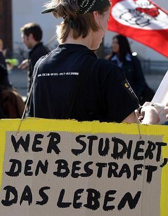 Proteste in München: Gebühren mit ungewisser Verwendung