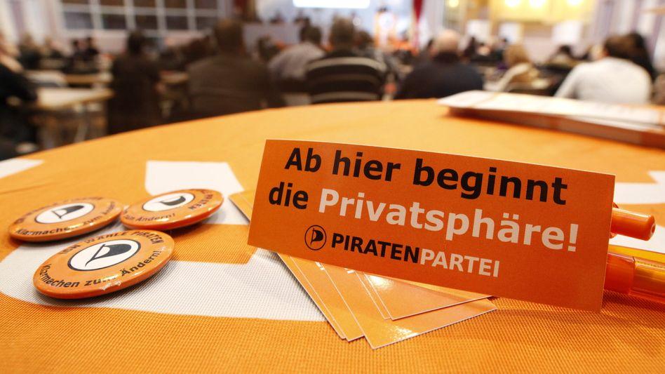 Piraten und Privatsphäre: Datenschutz gehört zu den wichtigsten Zielen der Partei