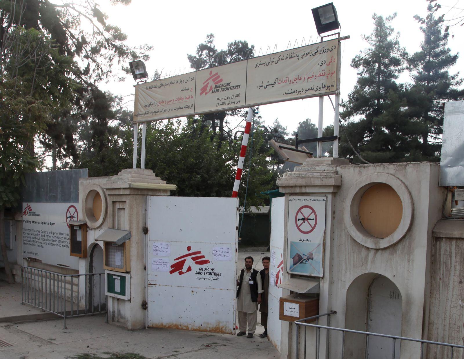 Kunduz/ Luftangriff/ Krankenhaus/ Ärzte ohne Grenzen